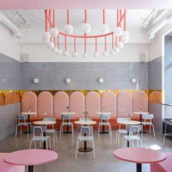 طراحی کافه قنادی در اوکراین