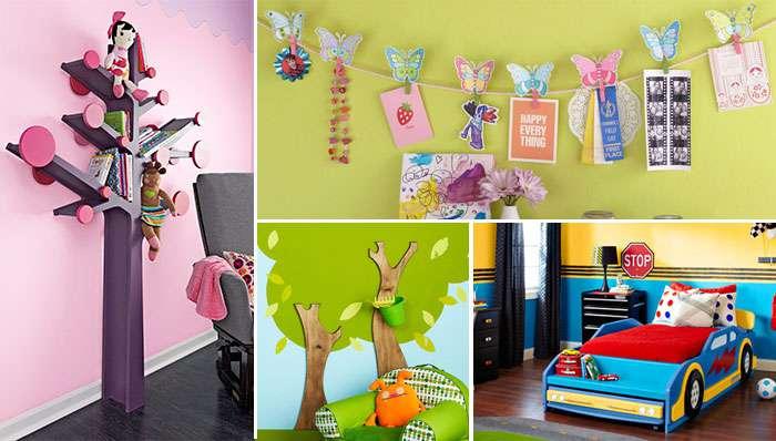 تصاویر طراحی داخلی اتاق کودک