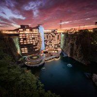 طراحی هتلدرون آبشاری