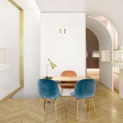 دکوراسیون داخلی طلا فروشی در پاریس
