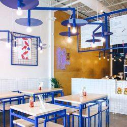 طراحی داخلی رستوران آسیایی