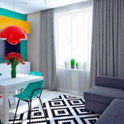 نقش رنگ در طراحی دکوراسیون منزل