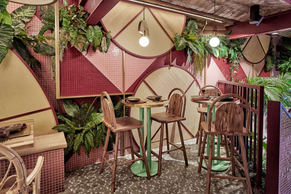 دکوراسیون رستوران ژاپنی