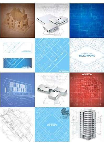 تصاویر وکتور پلان معماری