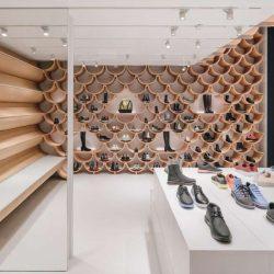 طراحی و دکوراسیون کفش فروشیدر اسپانیا