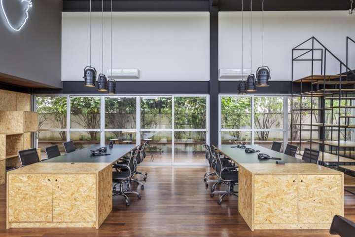 طراحی داخلی شرکت فیلمسازی در برزیل