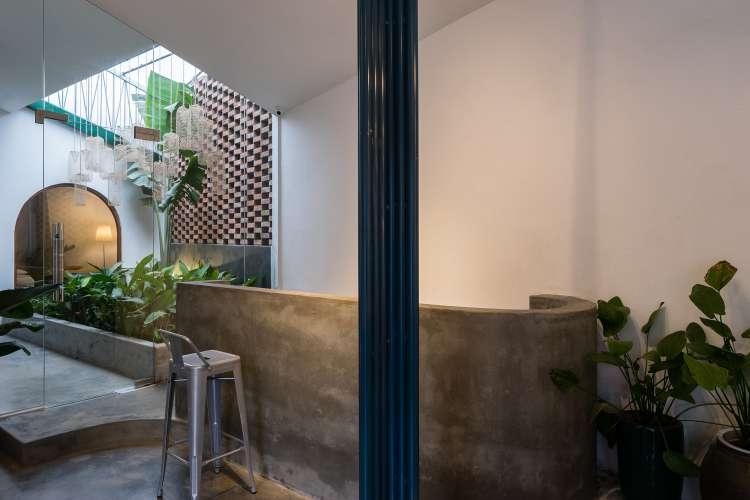طراحی داخلی سالن خدمات زیبایی