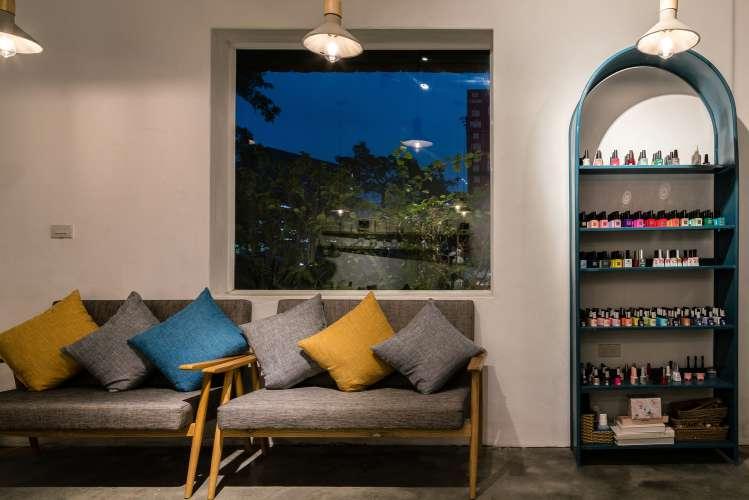 طراحی داخلی سالن ماساژ