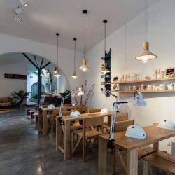 طراحی سالن اسپا و ناخن در ویتنام