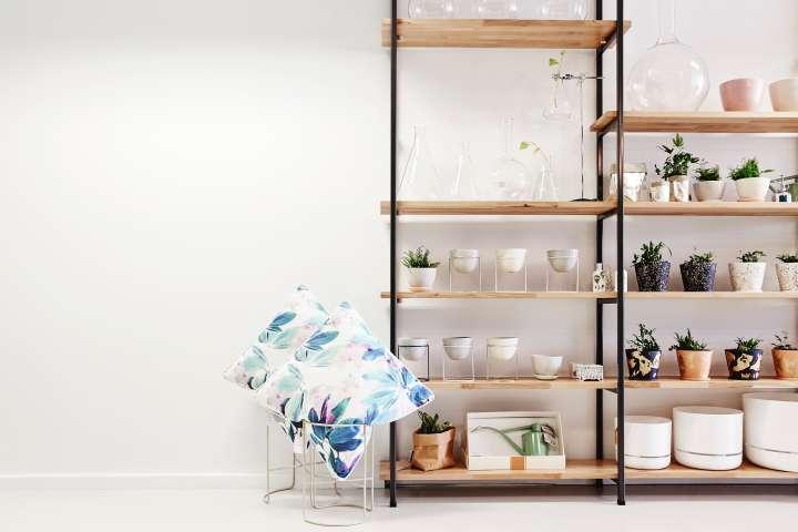 طراحی فروشگاه گل و گیاه