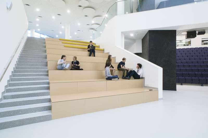 طراحی کمپ مدرسه ایی در روسیه