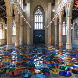 طراحی داخلی مرکز نمایش هنر های تجسمی در انگلستان
