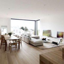 طراحی داخلی خانه به سبک مینیمال در سانفرانسیسکو