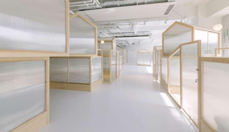 طراحی داخلی هاستل
