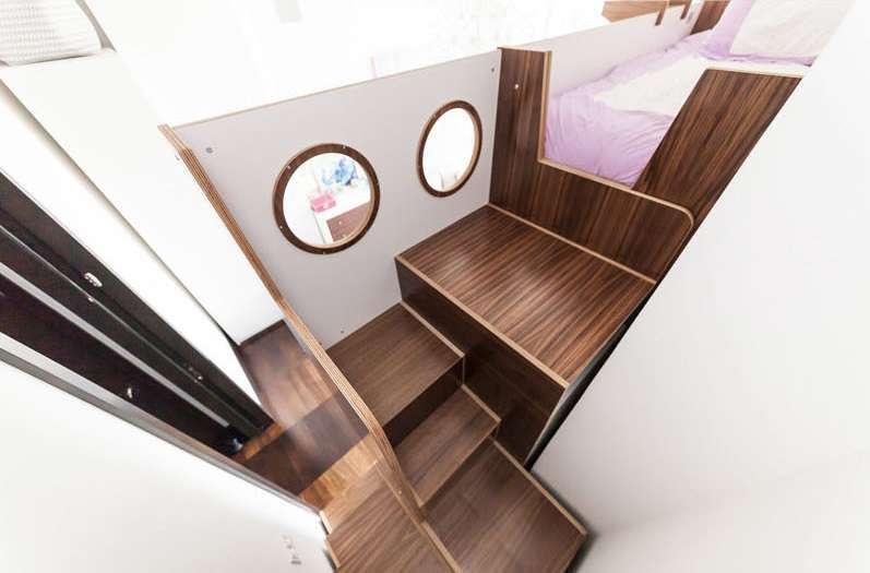 طراحی تخت خواب چند منظوره