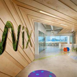 طراحی دفتر کار مدرن شرکت WIX