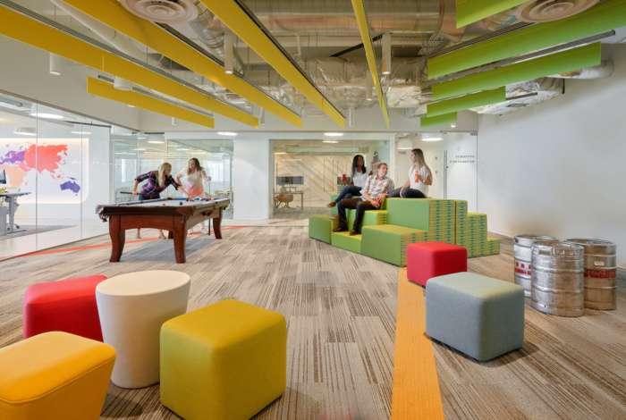 طراحی دفتر کار مدرن با رویکرد ارتقا انرژی