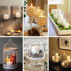 34 ایده جذاب استفاده از شمع در دکوراسیون داخلی