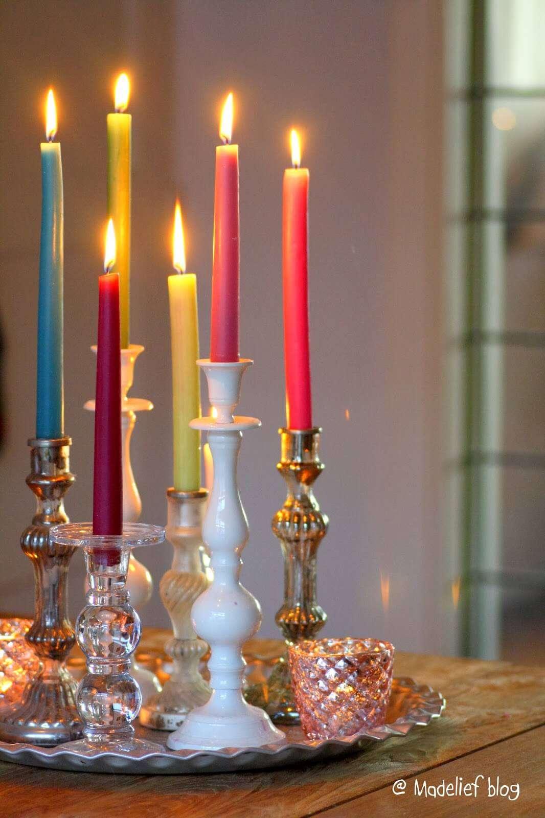 شمع در دکوراسیون داخلی
