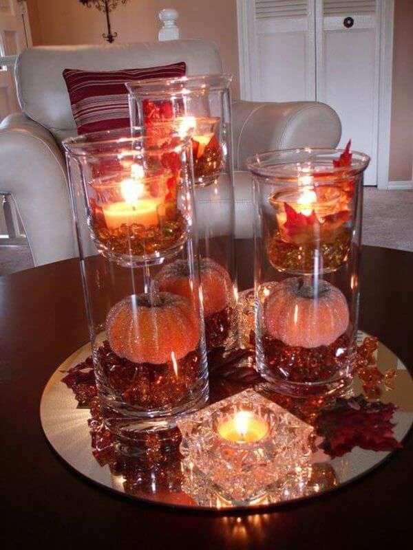 ایده های خلاقانه شمع آرایی