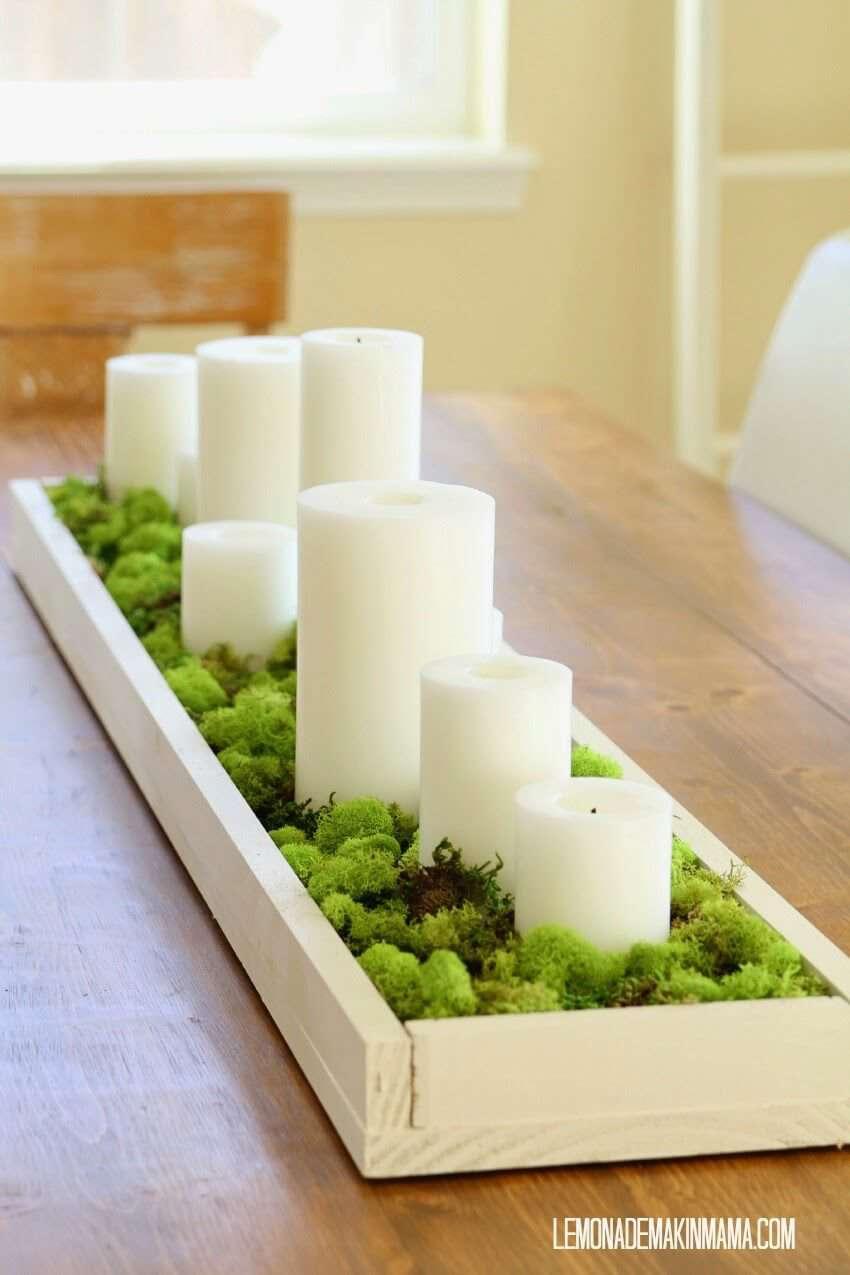 بهترین تزئینات با استفاده از شمعدر دکوراسیون منزل