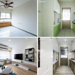 بازسازی و طراحی آپارتمان به سبک معاصر