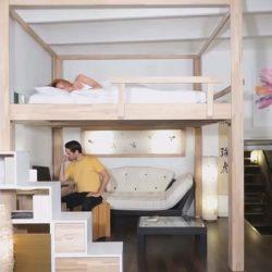 ایده های جذاب طراحی مبلمان و چیدمان فضاهای کوچک – معمار TV