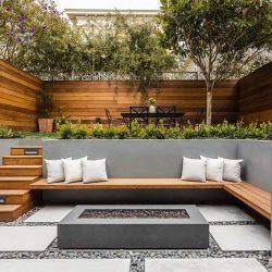 بازسازی خانه در سانفرانسیکو با حیاط چند طبقه