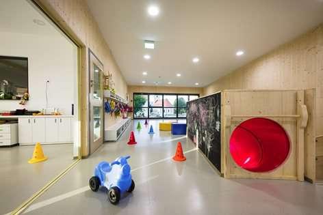 طراحی داخلی مهد کودک با رویکرد خلاقیت