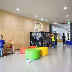 طراحی مهد کودک با رویکرد ارتقا تعاملات کودکان