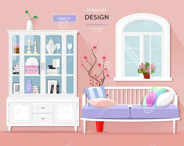 تصاویر وکتور طراحی داخلی