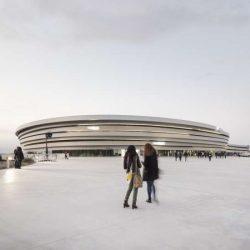 طراحی سالن ورزشی چند منظوره در فرانسه