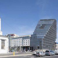 نمای ساختمان اداری