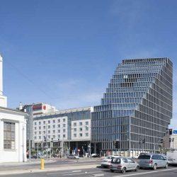 طراحی نمای ساختمان اداری بالتیک
