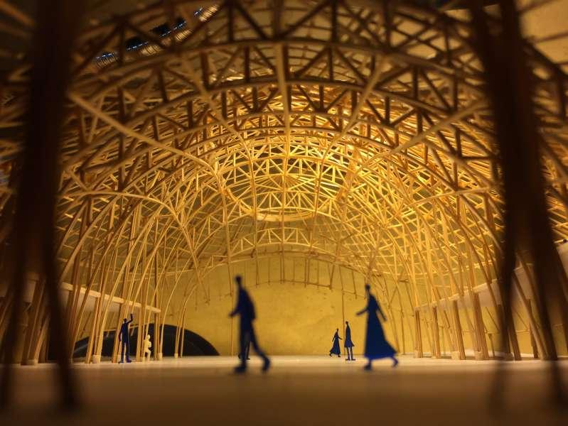 سازه چوبی بامبو