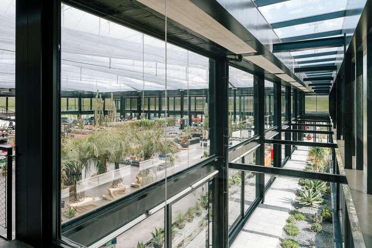 طراحی گلخانه