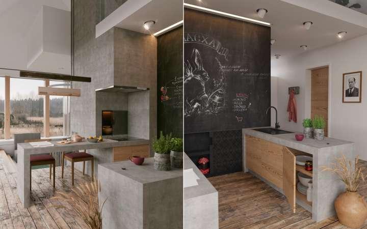 چیدمان و دکوراسیون آشپزخانه