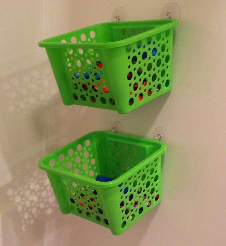 ایده آویز حمام برای به حداکثر رساندن فضای کاربردی حمام