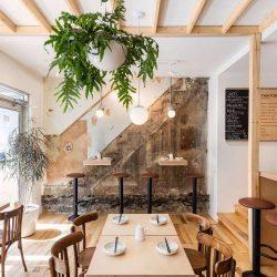 بازسازی و طراحی کافه بار ژاپنی