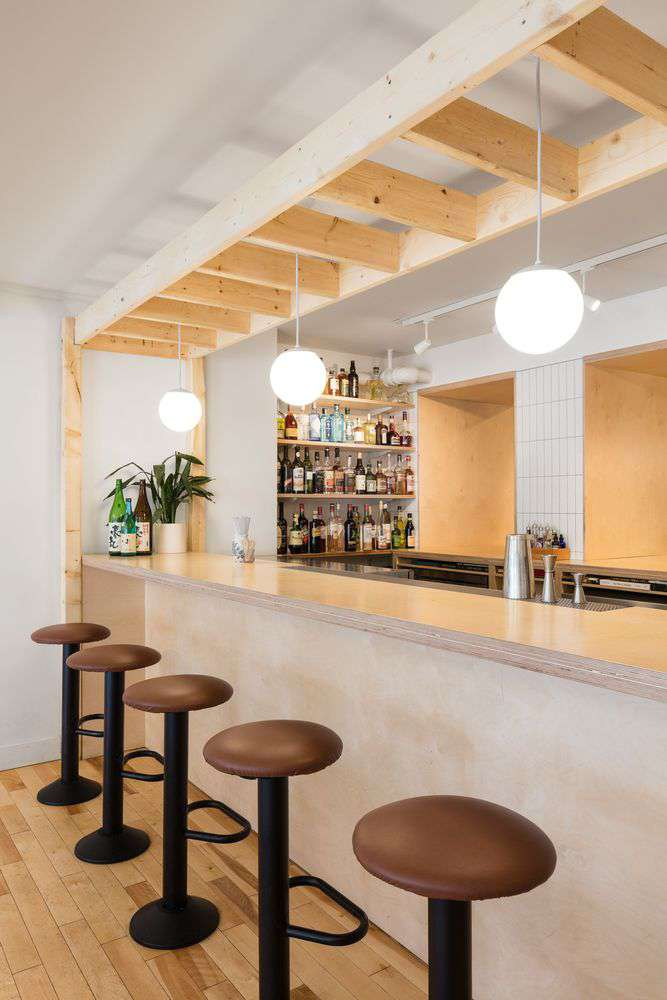 طراحی کافه بار ژاپنی