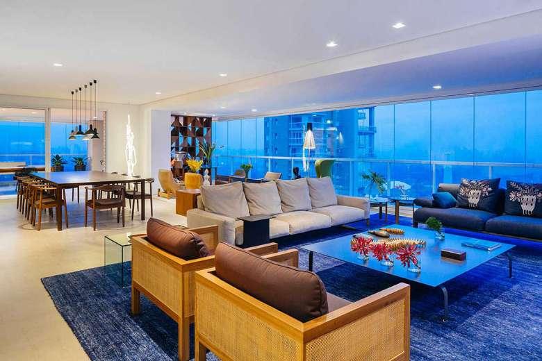 دکوراسیون داخلی آپارتمان 200 متری