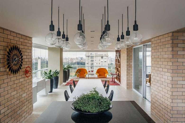 طراحی داخلی آپارتمان 200 متری