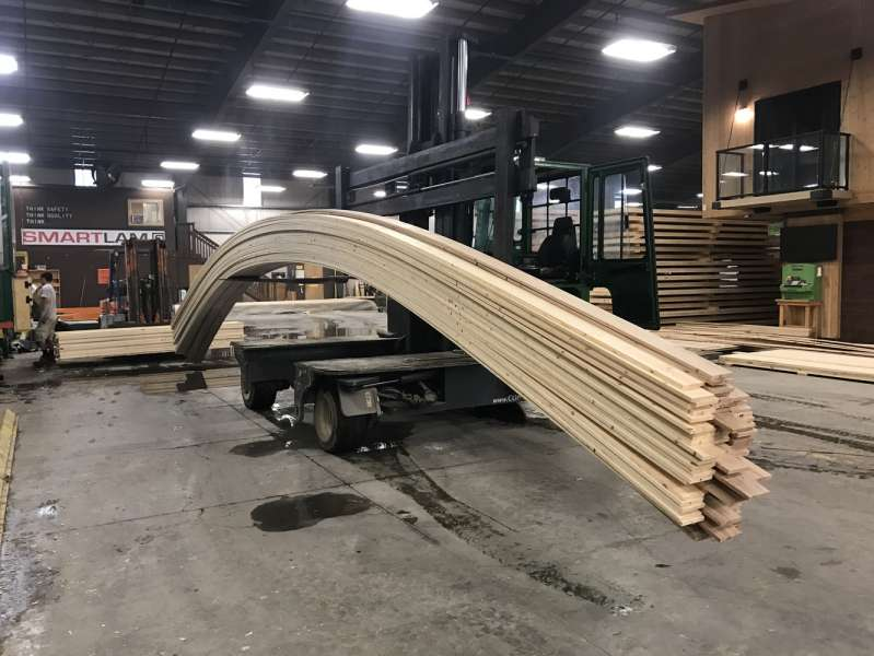اینستالیشن چوبی