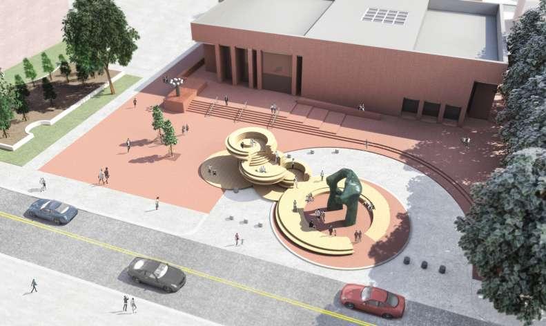 طراحی میدان یادبود