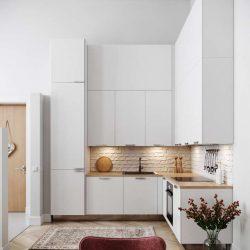 30 طراحی داخلی آشپزخانه L شکل