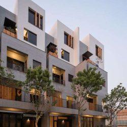 طراحی خانه تراسی به سبک تایوانی