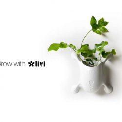 خلاقیت در طراحی گلدان عمودی LIVI