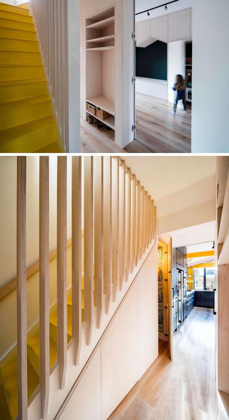 استفاده از تیر زرد فولادی در طراحی داخلی خانه