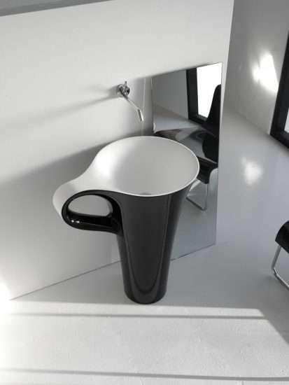طراحی خلاقانه روشویی مدرن