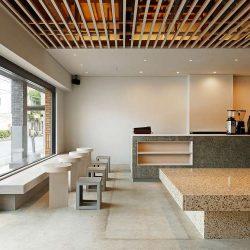 طراحی کافی شاپ مدرن در ژاپن